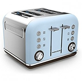 Morphy Richards 4 Slice Toaster-Blue Electrical